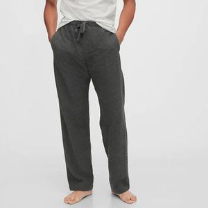 Gap Men's Flannel Pajama Pants -- Charcoal Gray
